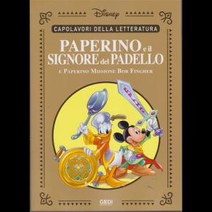 Capolavori della letteratura - Paperino e il signore del padello e Paperino Missione Bob Fingher - n. 34 - 31/10/2020 - settimanale