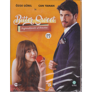 Fivestore Magazine  - Bitter Sweet - Ingredienti d'Amore - terza uscita - 2 dvd + booklet - n. 95 -