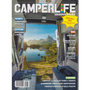 Abbonamento Camperlife (cartaceo  mensile)