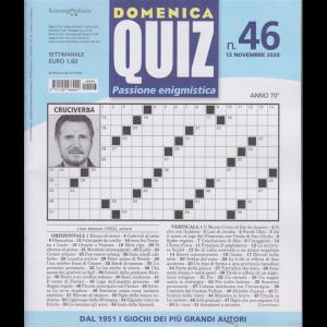 Domenica Quiz - n. 46 - 12 novembre 2020 - settimanale