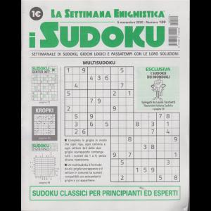 La settimana enigmistica - i sudoku - n. 120 - 5 novembre 2020 - settimanale