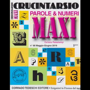 Maxi Crucintarsio - n. 68 - maggio - giugno 2019 - trimestrale -
