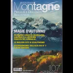 Meridiani Montagne - Prealpi e Dolomiti Bellunesi - n. 107 - bimestrale - novembre 2020