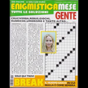 Enigmistica Mese Gente - n. 11 - 5 novembre 2020 - mensile - 100 pagine