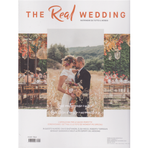 The Real Wedding - n. 5 - novembre 2020 - semestrale -