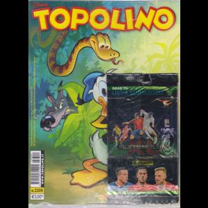 Topolino -n. 3309 - 24/4/2019 - settimanale - + Adrenalyn cards
