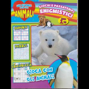 Un cuore per gli animali - Giochi e passatempi enigmistici - n. 3 - bimestrale - novembre - dicembre 2020 -