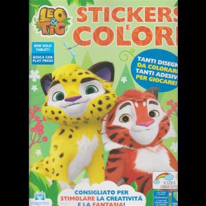 Leo & Tig Stickers e colori - n. 5 - novembre - dicembre 2020 - bimestrale -
