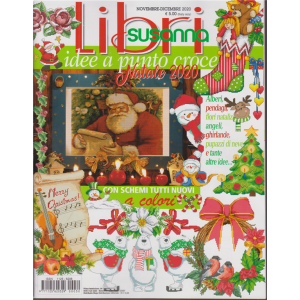 Libri Susanna - Idee a punto croce Natale 2020 - n. 30 - novembre - dicembre 2020 - bimestrale