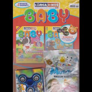 L'arca di Noe' Baby - 2 Gadget + 2 Riviste - bimestrale - novembre - dicembre 2020 - n. 9