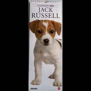 Calendario  2021 Jack Russel- cm. 14.5 x 41 con spirale