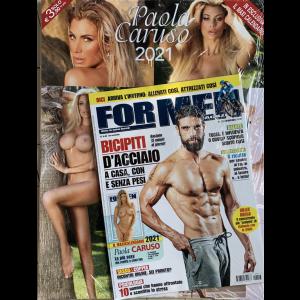 For men magazine - mensile n. 213 Novembre 2020 + Calenadrio 2021