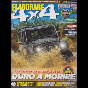 Elaborare 4X4 - n. 76 - novembre - dicembre 2020 - bimestrale + allegato catalogo accessori 2021 - 2 riviste