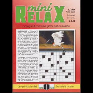 Mini Relax - n. 2007 - settimanale - 10/11/2020 -