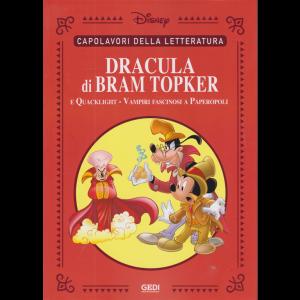 Capolavori della letteratura - Dracula di Bram Topker e Quacklight - Vampiri fascinosi a Paperopoli - n. 35 - settimanale - 7/11/2020 -