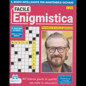 Facile Enigmistica - n. 210 - bimestrale - 7/11/2020