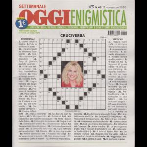 Settimanale Oggi Enigmistica - n. 46 - novembre 2020 -