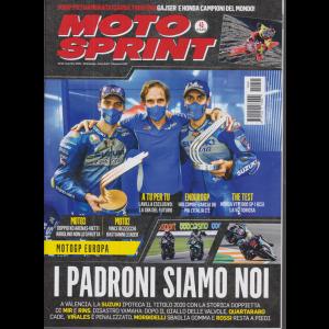 Motosprint - n. 45 - settimanale - 10/16 novembre 2020