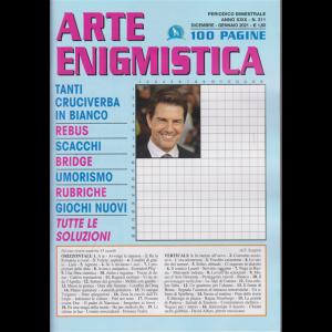 Arte Enigmistica - n. 211 - bimestrale - dicembre - gennaio 2021 - 100 pagine