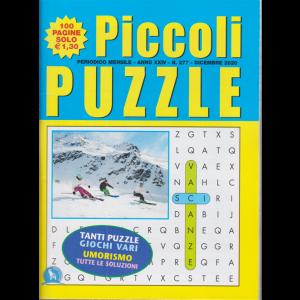 Piccoli Puzzle - n. 277 - mensile - dicembre 2020 - 100 pagine