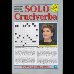 Solo Cruciverba - n. 191 - bimestrale - dicembre - gennaio 2021 - 100 pagine