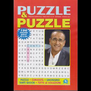 Puzzle & Puzzle - n. 167 - bimestrale - dicembre - gennaio 2021 - 196 pagine