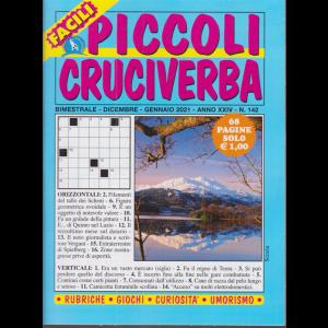 Piccoli Cruciverba - n. 142 - bimestrale - dicembre - gennaio 2021 - 68 pagine
