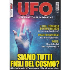 Ufo International Magazine - n. 91 - 3/11/2020 - mensile