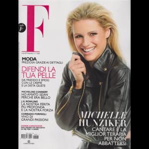 F - n. 46 -Michelle Hunziker -  settimanale - 17/11/2020
