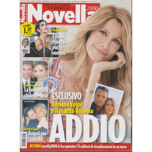 Novella 2000 - n. 47 - settimanale - 11 novembre 2020