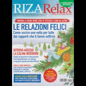 Riza Relax - Le relazioni felici - n. 8 - novembre - dicembre 2020 - bimestrale