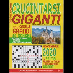 Crucintarsi Giganti - n. 17 - mensile - 10/11/2020 -