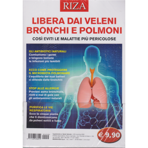 Salute naturale - Libera dai veleni bronchi e polmoni - n. 259 - novembre 2020 -
