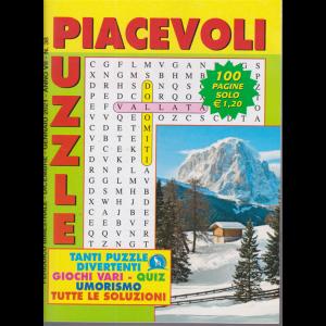 Piacevoli Puzzle - n. 38 - bimestrale - dicembre - gennaio 2021 - 100 pagine