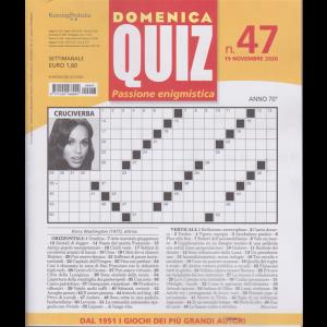 Domenica Quiz - n. 47 - 19 novembre 2020 - settimanale
