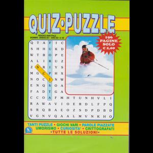 Quiz -  Puzzle - n. 169 - bimestrale - dicembre - gennaio 2021 - 196 pagine