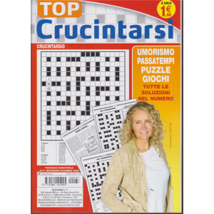 Top Crucintarsi - n. 37 - bimestrale - novembre -dicembre 2020 -
