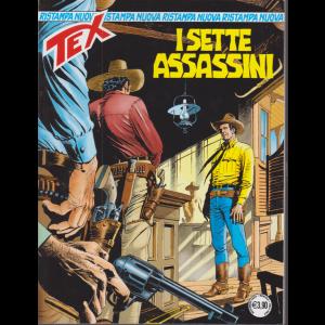 Tex Nuova Ristampa - I sette assassini - n. 463 - mensile - novembre 2020