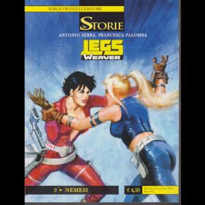 Le Storie - Legs 3 - Nemesi - mensile - novembre 2020 -
