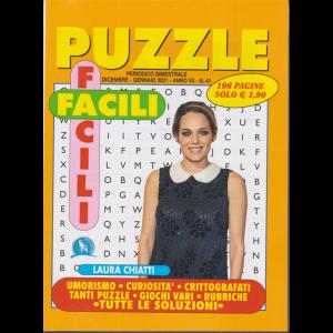 Puzzle Facili Facili - n. 41 - bimestrale - dicembre - gennaio 2021 - 196 pagine
