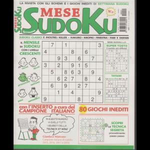 Settimana Sudoku Mese - n. 21 - mensile - 13/11/2020