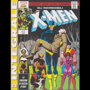 Marvel Integrale  - Gli incredibili X-Men - n.23 -La sindrome di riccioli d'oro! -  mensile - 12 novembre 2020