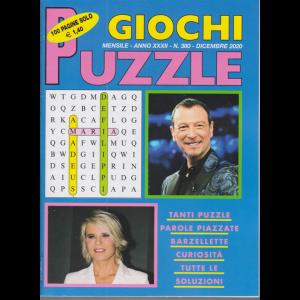 Giochi Puzzle - n. 380 - mensile - dicembre 2020 - 100 pagine