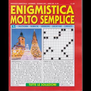 Enigmistica molto semplice - n. 86 - bimestrale - dicembre - gennaio 2021 -
