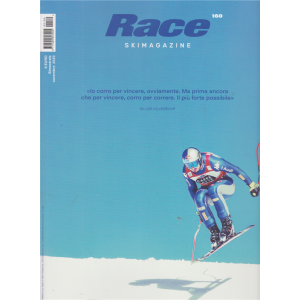 Race Ski Magazine - n. 160 - bimestrale - novembre 2020