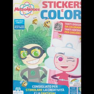 Meteo Heroes Stickers e colori - n. 1 - novembre - dicembre 2020 - bimestrale -