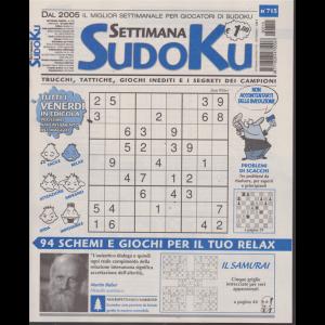 Settimana Sudoku - n. 715 - settimanale - 26/ aprile 2019