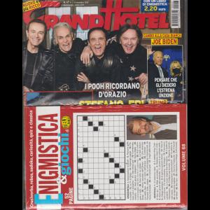 Grand Hotel + Enigmistica & giochi di Telesette - n. 47 - settimanale - 13 novembre 2020 - 2 riviste
