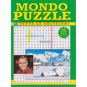 Mondo Puzzle - n. 226 - bimestrale - dicembre - gennaio 2020 - 68 pagine