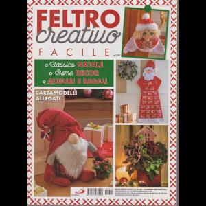 Feltro Creativo Facile - n. 15 - 12 novembre 2020 - trimestrale